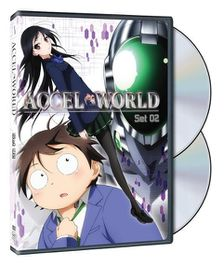 Accel World:Set 2 - (Region 1 Import DVD)