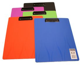 Donau Polypropylene Fashion Clipboard - Orange
