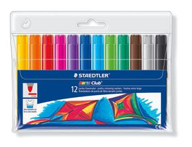 Staedtler Noris Club Jumbo 12 Colouring Markers