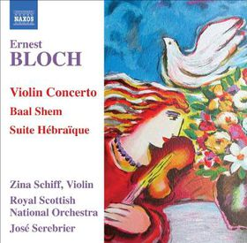 Bloch:Violin Cto Baal Shem Suite Hebr - (Import CD)