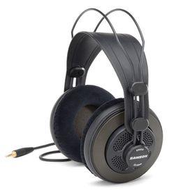 Samson SR850 Professional Studio Reference Headphones - Black