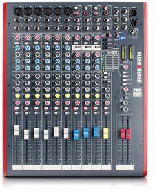 Allen & Heath ZED-12FX Live Studio Mixer with USB Interface & FX - Black