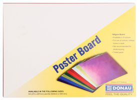 Donau Project Board A4 - Bright Assorted Colours (Pack of 100)