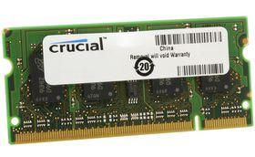 Crucial 2GB 800MHz DDR2 SODIMM Laptop Memory