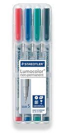 Staedtler Lumocolor 4 Non-Permanent Superfine Markers
