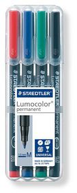 Staedtler Lumocolor 4 Permanent Medium Markers