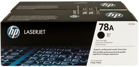 HP 78A 2-Pack LaserJet Toner Cartridges - Black