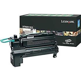 Lexmark X792 Black Extra High Yield Return Programme Print Cartridge (20K)