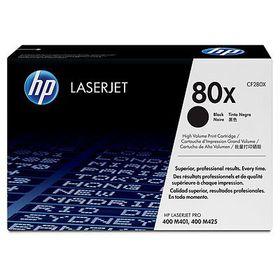 HP 80X Black LaserJet Toner Cartridge, 2-pack