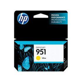 HP # 951 Yellow Officejet Ink Cartridge - Standard Capacity
