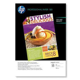 HP Professional Glossy Inkjet Paper 180 g/m-50 sht/A3/297 x 420 mm