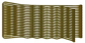 Chic Hair Grips 20 Pack - 50mmBrown