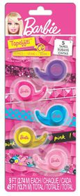 Barbie Tapeffiti Tape On Card - 5 Piece