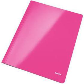 Leitz WOW A4 Document Flat File - Pink