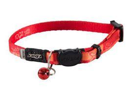 Rogz - Catz KiddyCat Extra-Small Safeloc Breakaway Cat Collar - Orange