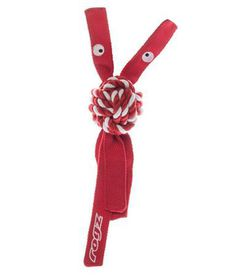 Rogz - Cowboyz Small Dog Knot Chew Toy - Red