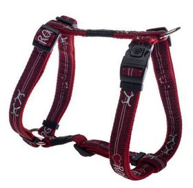 Fancy Dress Medium Scooter Dog H-Harness - Red