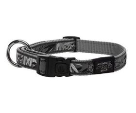 Fancy Dress Extra Extra Large Special Agent Dog Collar - Silver
