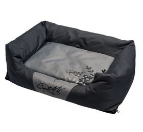 Rogz Large Spice Pod Cushion Bed - Silver