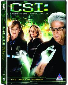CSI Las Vegas Season 12 (DVD)