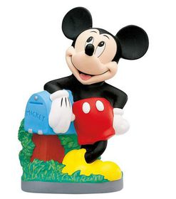 Bullyland Mickey Mouse Club House Mickey Money Bank - 23cm
