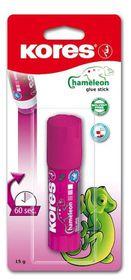 Kores Chameleon Glue Stick 15g Blister Pack