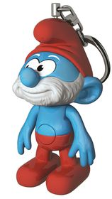Papa Smurf Key Chain Light