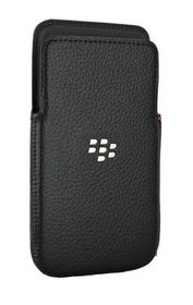 BlackBerry Z30 Leather Pocket Case - Black