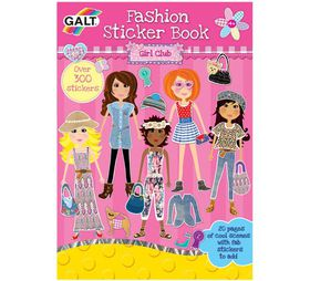 Galt Toys Fashion Sticker Book