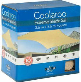 Coolaroo - Extreme Shade Sail Square - Desert Sand
