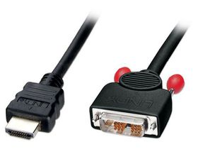 Lindy DVI Male To HDMI Male Cable - 2m