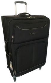 Tosca Platinum Trolley Case - Black & Grey