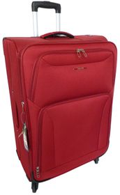 Tosca Wave 60cm Spinner Trolley Case - Red