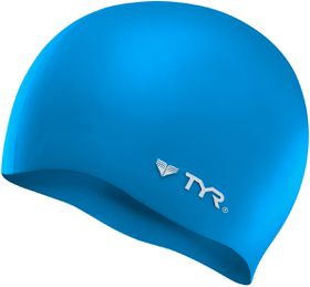 TYR Wrinkle Free Silicone Swimming Cap