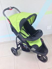 Chelino - Rocky Multi Position 3 Wheel Stroller - Green