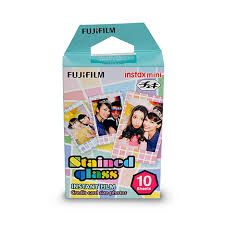 Fujifilm Instax Mini Film Stained Glass Pack of 10