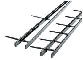 GBC 45mm VeloBind Strips 4 Prong - Black (25 Pack)