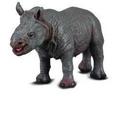 CollectA White Rhinoceros Calf - Small