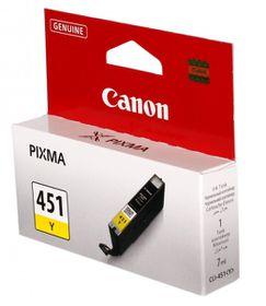 Canon CLI-451 Dye Ink Cartridge - Yellow