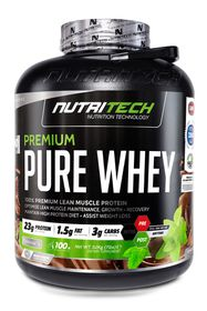 Nutritech Premium Pure Whey - American Ice Cream Soda 3.2kg