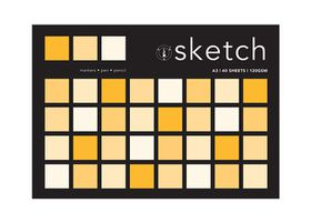 Art Board A3 Sketch Pad - 40 Sheets