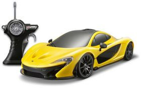 Maisto Remote Control 1/14 McLaren P1 Ready To Run - Alkalines Yellow
