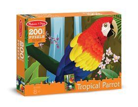 Melissa & Doug Tropical Parrot Jigsaw Puzzle - 200 Piece