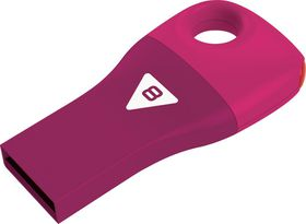 Emtec D300 Car Key USB 2.0 Flash Drive 8GB - Pink