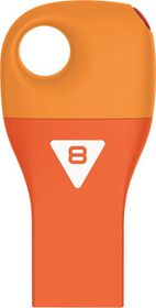 Emtec D300 Car Key USB 2.0 Flash Drive 8GB - Orange