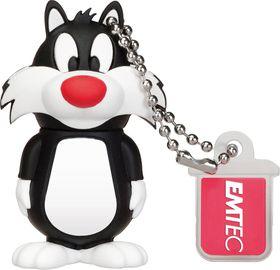Emtec L100 Sylvester USD 2.0 Flash Drive - 8GB