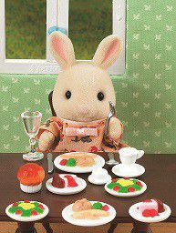 Sylvanian Family Dinner For Two Set