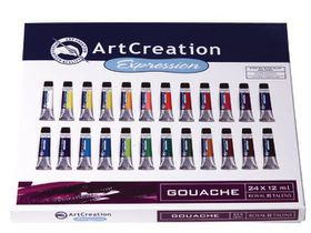 ArtCreation Expression Gouache 24 x 12ml Set