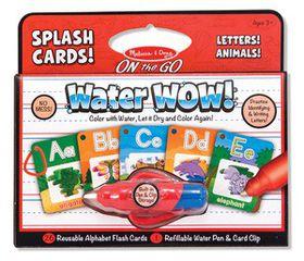 Melissa & Doug Water Wow Splash Cards Alphabet