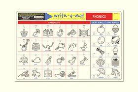 Melissa & Doug Phonics Write-A-Mat - Bundle of 6